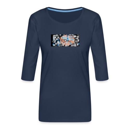LIO'N - Women's Premium 3/4-Sleeve T-Shirt