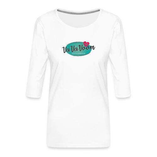 vavavoom logo 330v760 - Dame Premium shirt med 3/4-ærmer