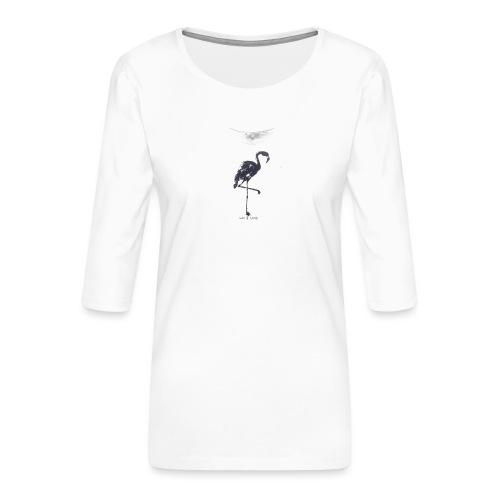 T-shirt imprimé - off white - T-shirt Premium manches 3/4 Femme