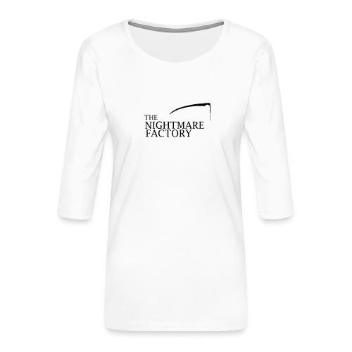 nightmare factory Nero png - Women's Premium 3/4-Sleeve T-Shirt