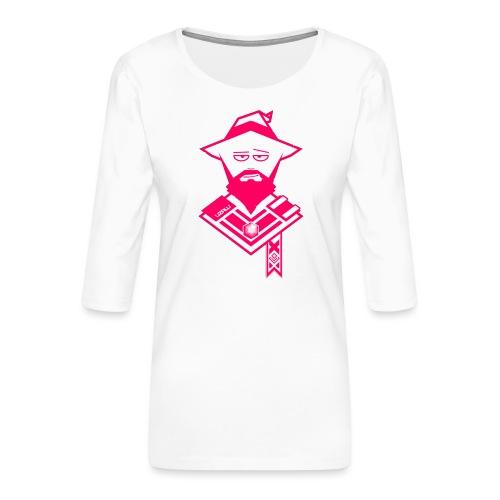 uzalu the Wizard - Women's Premium 3/4-Sleeve T-Shirt