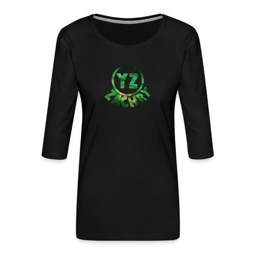 YZ-thank top kids - Vrouwen premium shirt 3/4-mouw