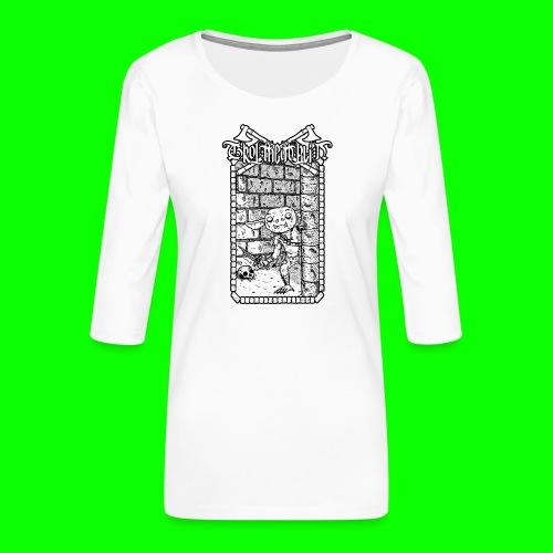 Return to the Dungeon - Women's Premium 3/4-Sleeve T-Shirt
