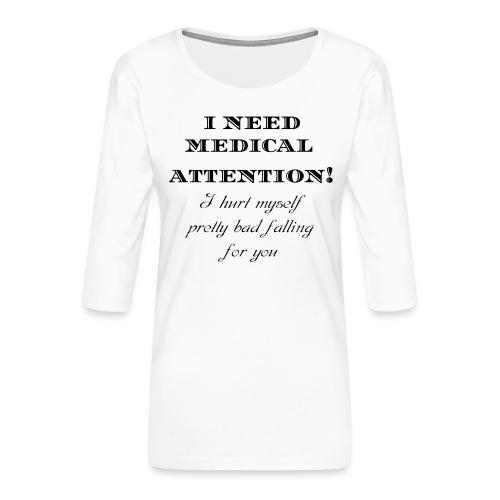 Attention - Naisten premium 3/4-hihainen paita