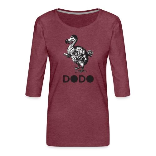 DODO TEES ALICE IN WONDERLAND - Maglietta da donna premium con manica a 3/4