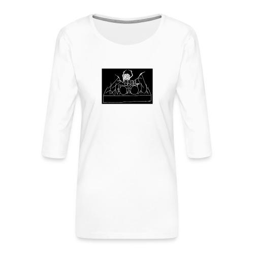 Drummer - Women's Premium 3/4-Sleeve T-Shirt