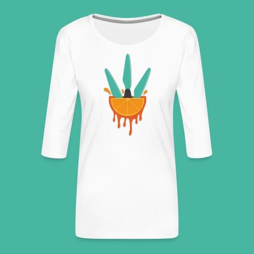 JuicePropFPV - Frauen Premium 3/4-Arm Shirt