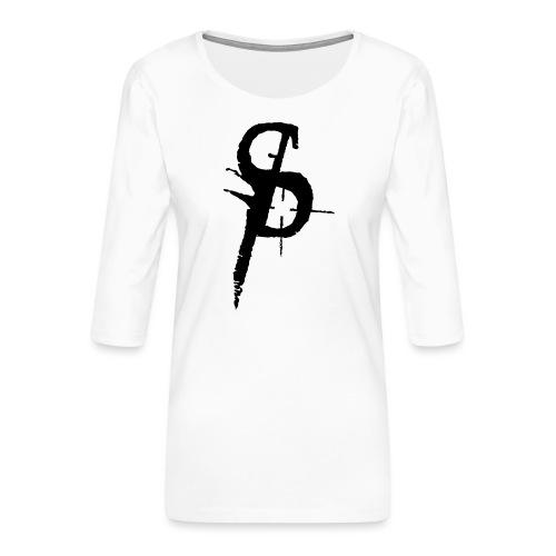 duality ps logo - Premium-T-shirt med 3/4-ärm dam