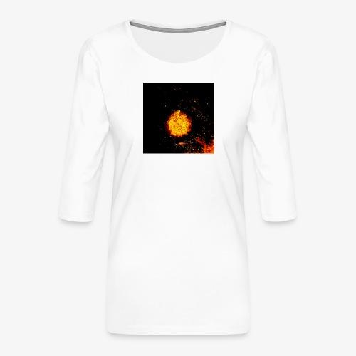 FIRE BEAST - Vrouwen premium shirt 3/4-mouw