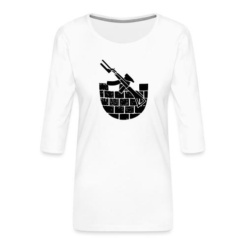 Kaupunkijääkäri - Naisten premium 3/4-hihainen paita