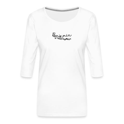 Benjamin O'Callaghan Vlogs - Women's Premium 3/4-Sleeve T-Shirt