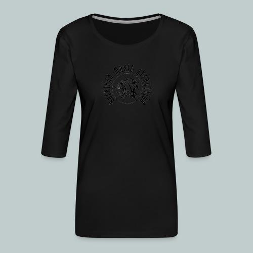 Sherikan Logo - Premium-T-shirt med 3/4-ärm dam