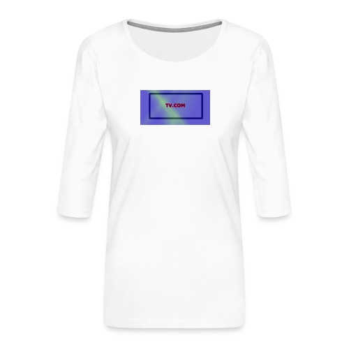 TV.COM - Naisten premium 3/4-hihainen paita