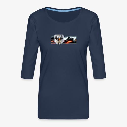 outkastbanner png - Women's Premium 3/4-Sleeve T-Shirt