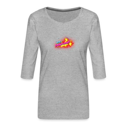 Spilministeriet - Dame Premium shirt med 3/4-ærmer