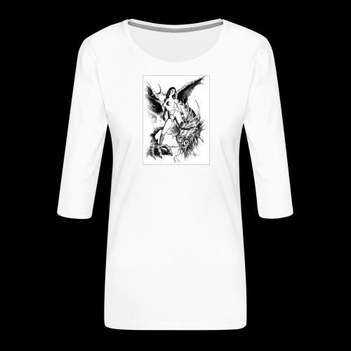 FANTASY 7 - Frauen Premium 3/4-Arm Shirt