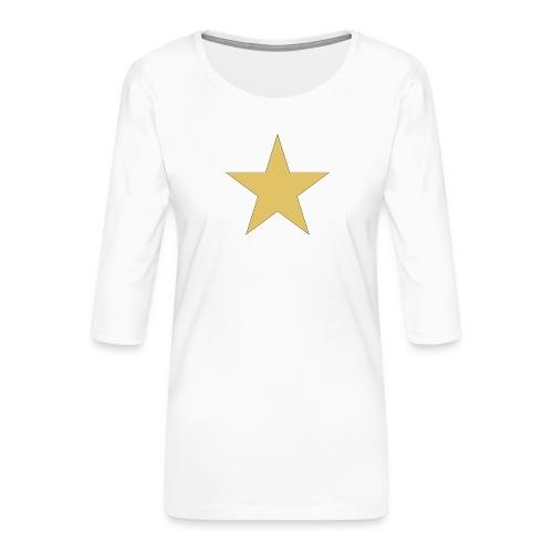 ardrossan st.pauli star - Women's Premium 3/4-Sleeve T-Shirt