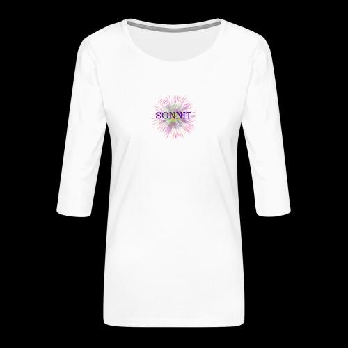 Sonnit Firework Blast - Women's Premium 3/4-Sleeve T-Shirt