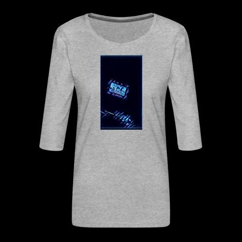 It's Electric - Women's Premium 3/4-Sleeve T-Shirt