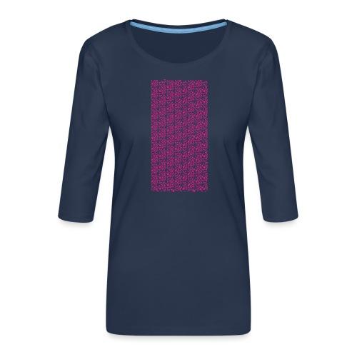 Fluo Sghiribizzy - Maglietta da donna premium con manica a 3/4