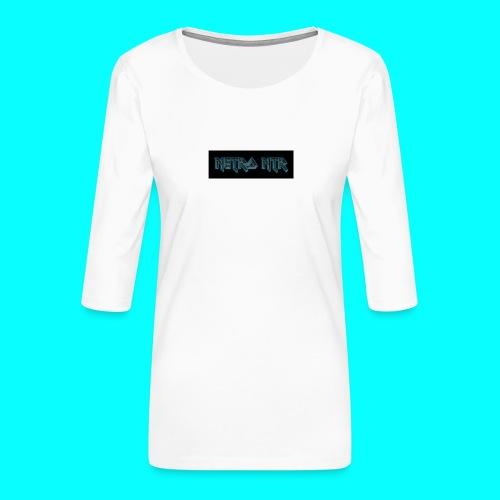 coollogo_com-6222185 - Vrouwen premium shirt 3/4-mouw