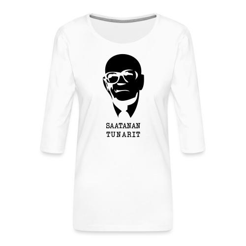 Kekkonen saatanan tunarit - Naisten premium 3/4-hihainen paita