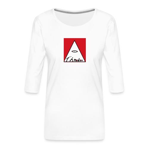 theodoo 1 - Premium-T-shirt med 3/4-ärm dam