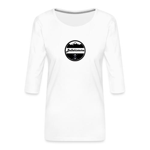 belle histoire - Vrouwen premium shirt 3/4-mouw