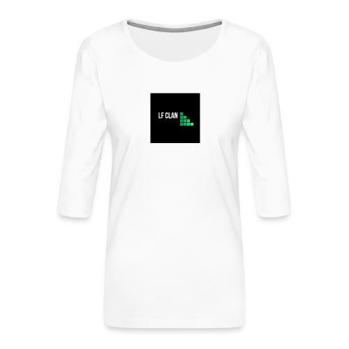 LF CLAN - Premium-T-shirt med 3/4-ärm dam