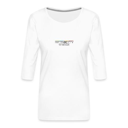 tasse officielle - T-shirt Premium manches 3/4 Femme