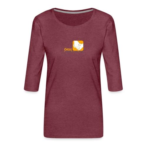 Logo der ÖRSG - Rett Syndrom Österreich - Frauen Premium 3/4-Arm Shirt