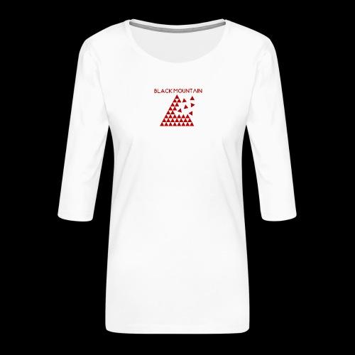 Black Mountain - T-shirt Premium manches 3/4 Femme
