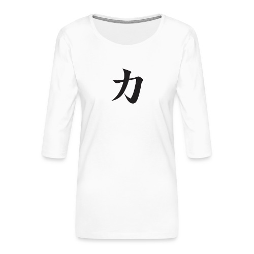 Katana - T-shirt Premium manches 3/4 Femme