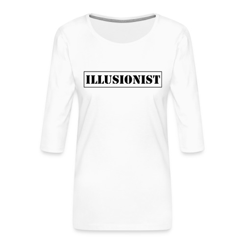 Illusionist - Women's Premium 3/4-Sleeve T-Shirt