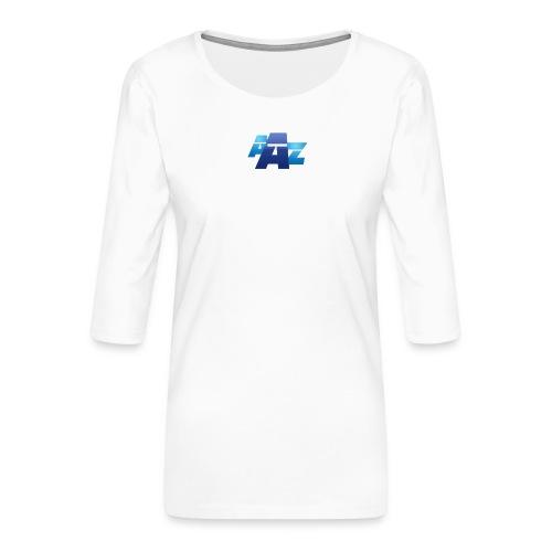 AAZ design large - T-shirt Premium manches 3/4 Femme