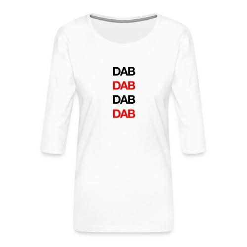 Dab - Women's Premium 3/4-Sleeve T-Shirt