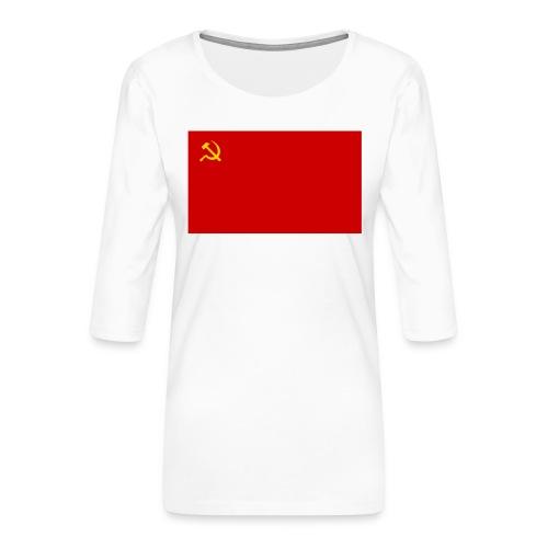 Eipä kestä - Naisten premium 3/4-hihainen paita