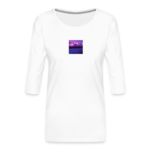 SoVVave - Koszulka damska Premium z rękawem 3/4