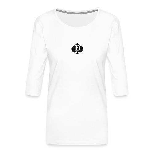 T-SHIRT DEL LUOGO - Women's Premium 3/4-Sleeve T-Shirt