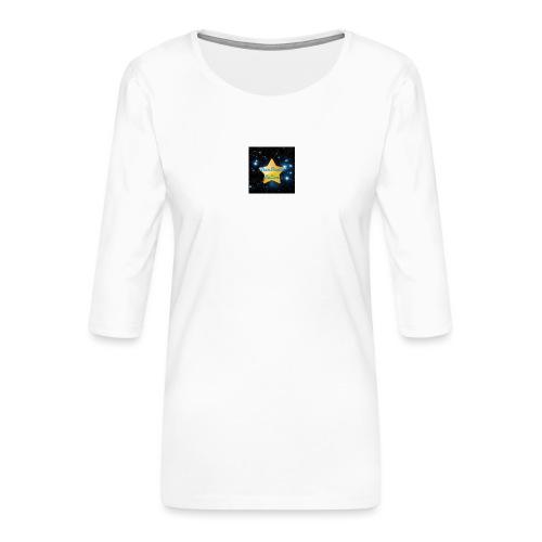 Logo Janvier-Juin 2017 de StarStudio LeLive ! - T-shirt Premium manches 3/4 Femme