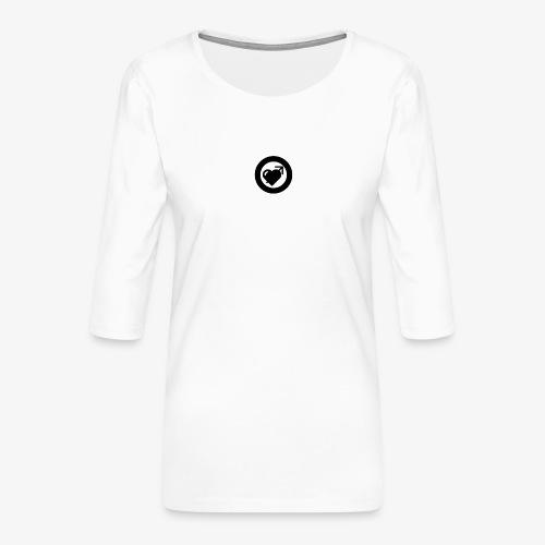 LOOVE (SS18) - Maglietta da donna premium con manica a 3/4