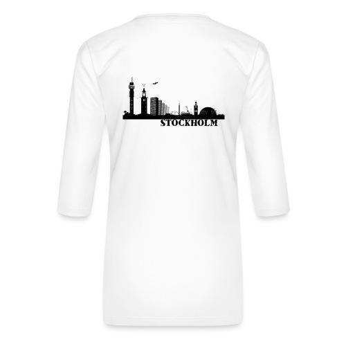 Stockholm - Premium-T-shirt med 3/4-ärm dam