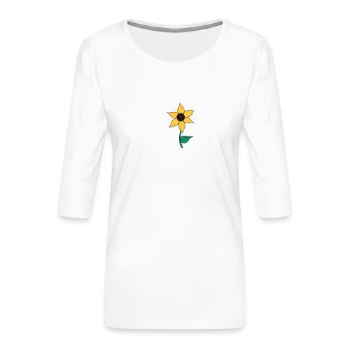 Sunflower - Vrouwen premium shirt 3/4-mouw
