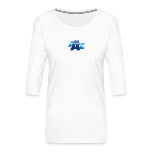 AAZ Simple - T-shirt Premium manches 3/4 Femme