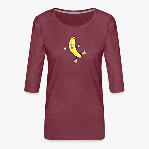 Banana - Women's Premium 3/4-Sleeve T-Shirt