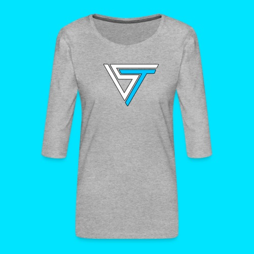 somsteveel kleding en accessoires - Vrouwen premium shirt 3/4-mouw