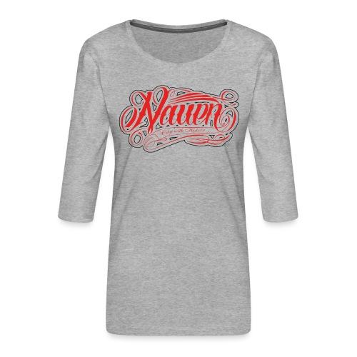 Nauen Rocker - Frauen Premium 3/4-Arm Shirt