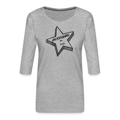 JACKESQUAD - Premium-T-shirt med 3/4-ärm dam