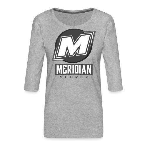 Offizielles sc0pez merch - Frauen Premium 3/4-Arm Shirt