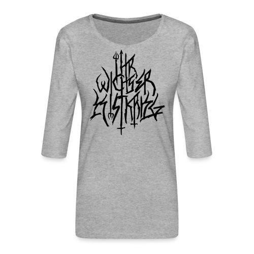 Black Metal ist Krieg - Frauen Premium 3/4-Arm Shirt
